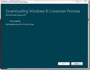 Windows 8 consumer